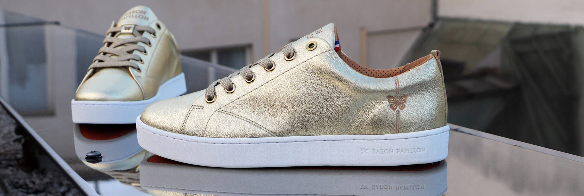 Sneakers de luxe made in France