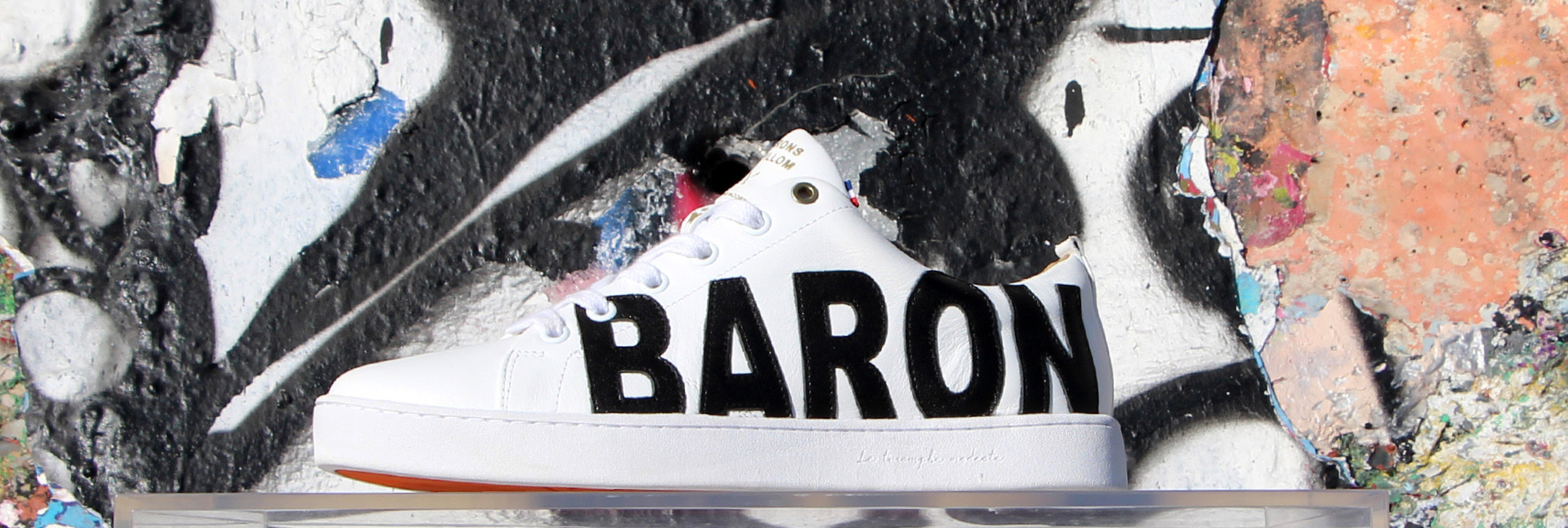 Nos ambassadeurs Baron Papillon sneaker de luxe made in France