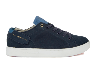 Sneaker Baron Papillon Low Suede leather navy