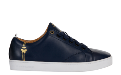 Sneaker Baron Papillon Low navy - lateral