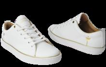 Sneaker Baron Papillon Basse Piping or