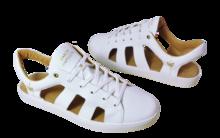 Sneaker Sandale Baron Papillon Blanc