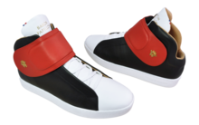 Sneaker Baron Papillon Mid Scratch black/red