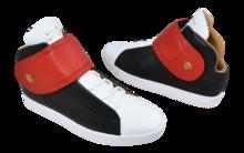 Sneaker Baron Papillon Mid Scratch noir/rouge