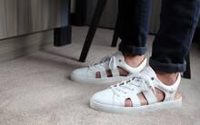 Sneaker Sandal Baron Papillon white