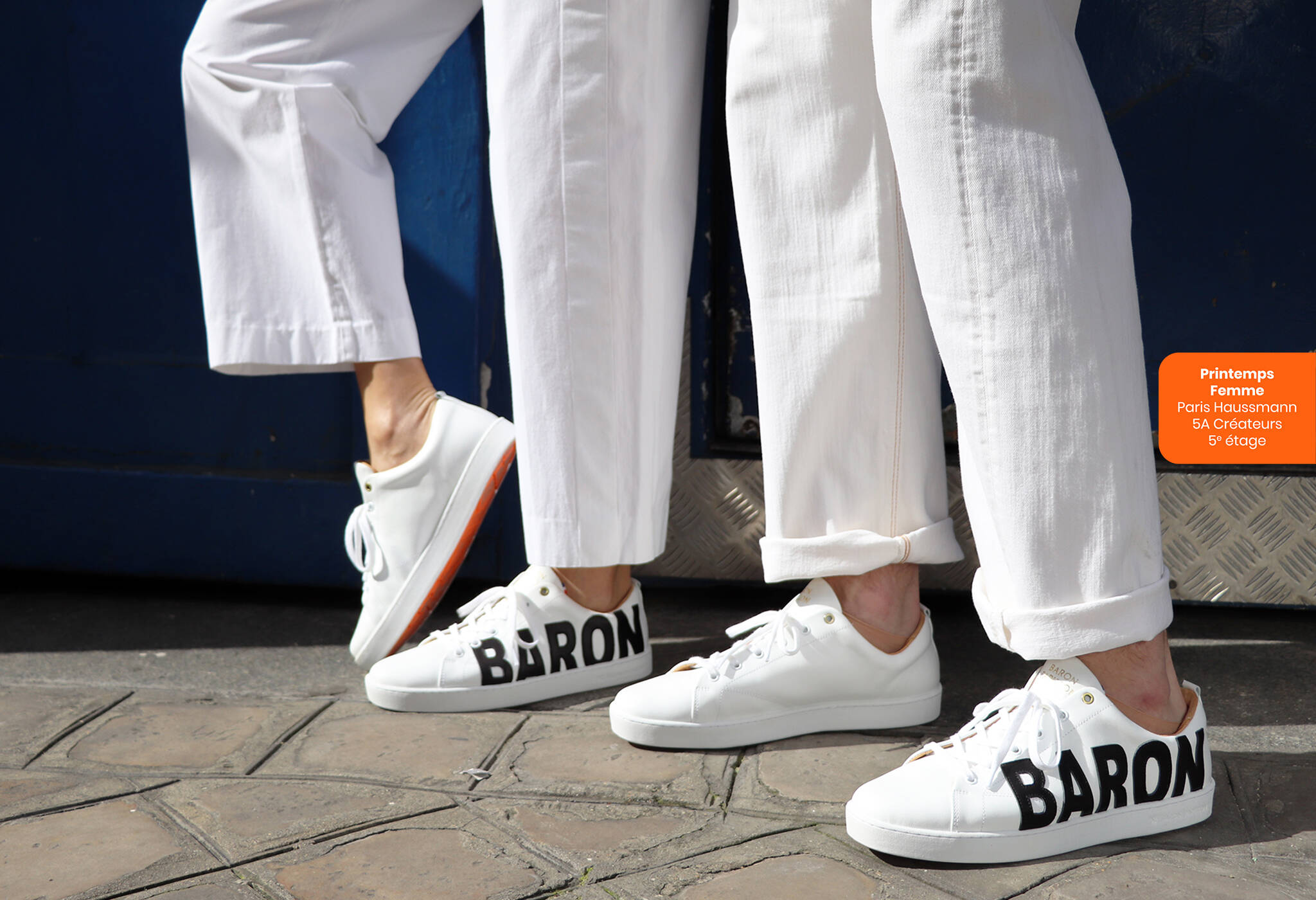 Sneaker New Baron Papillon Paris Collection