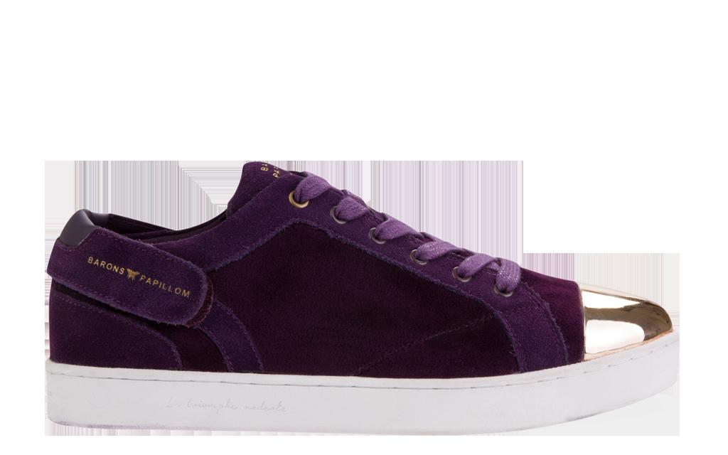 Sneaker Barons Papillom Low Velvet violet