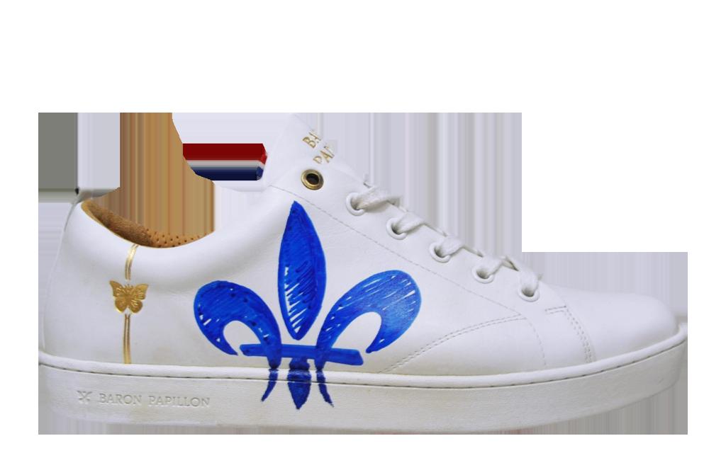 Sneaker Baron Papillon Low Lily Flower