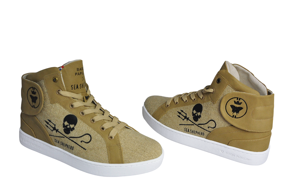Sneaker Baron Papillon Vaquita naturel