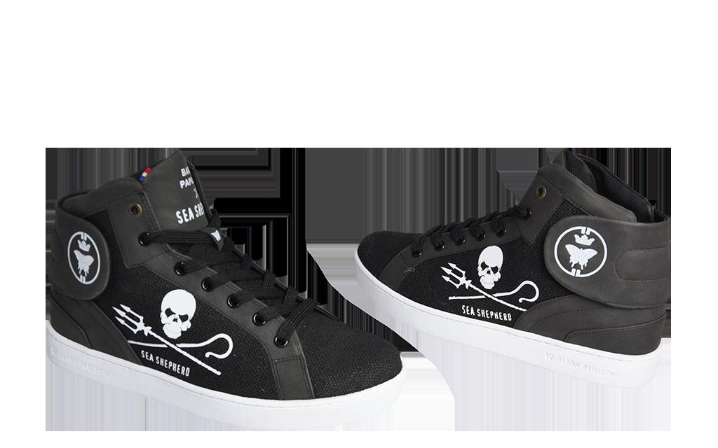 Sneaker Baron Papillon Vaquita noir
