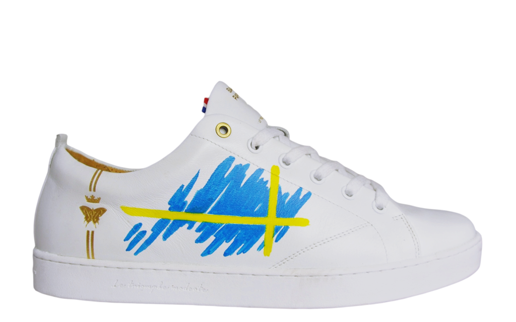 Sneaker Baron Papillon Low Swedish Flag