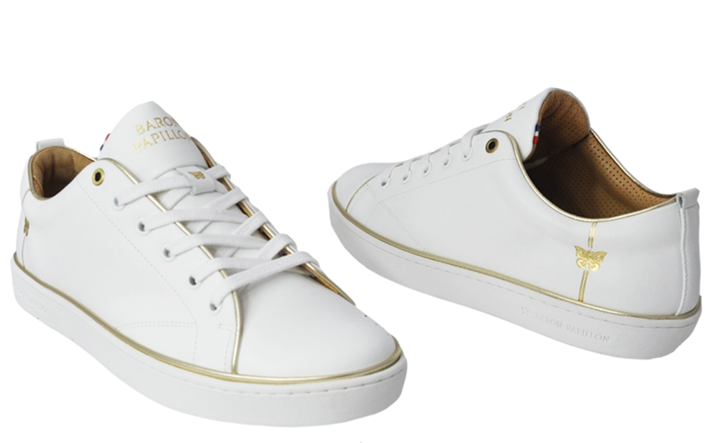 Sneaker Baron Papillon Basse Piping or