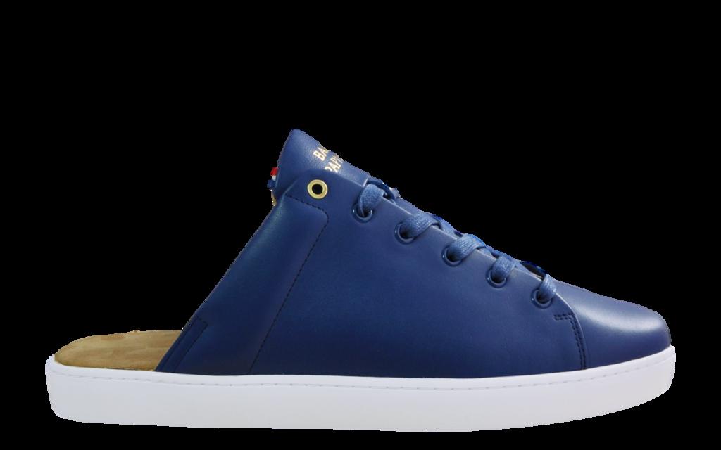 Sneaker Mule Baron Papillon Bleue