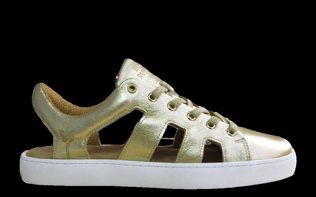 Sneaker d'été Baron Papillon Champagne doré