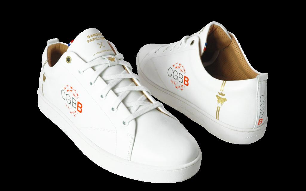 Sneaker Baron Papillon Basse Cercle des Gens Bien et Bienveillants