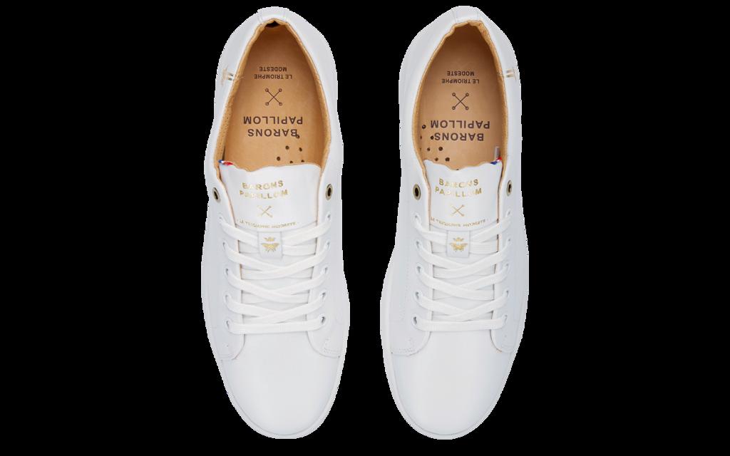 Sneaker Baron Papillon Basse blanche