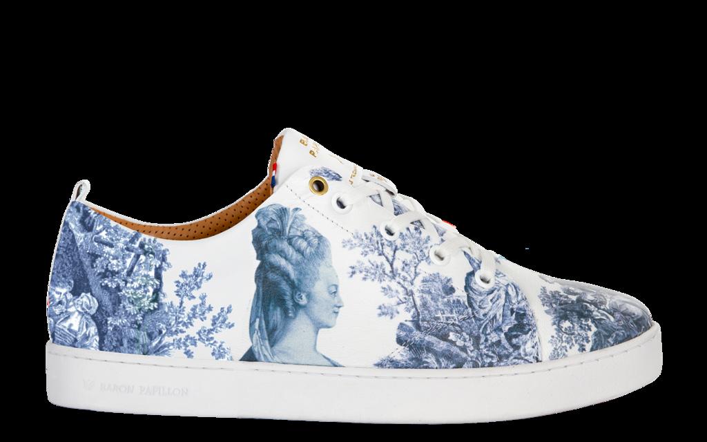 Sneaker Baron Papillon Basse Marie-Antoinette bleu