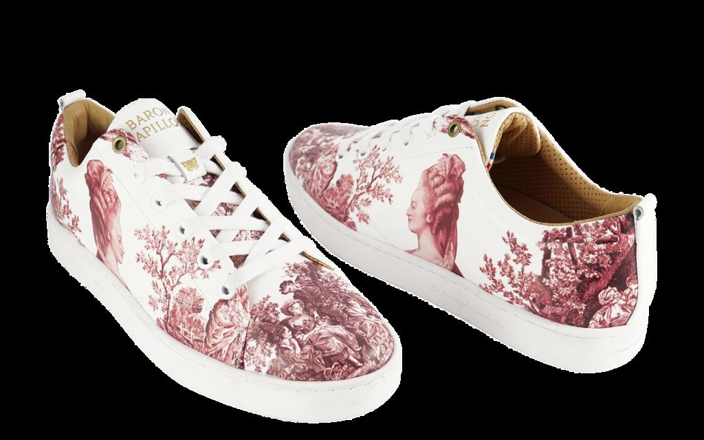 Sneaker Baron Papillon Low Marie-Antoinette old pink