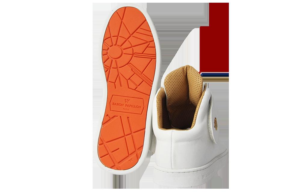 Sneaker Baron Papillon Mid Scratch blanc
