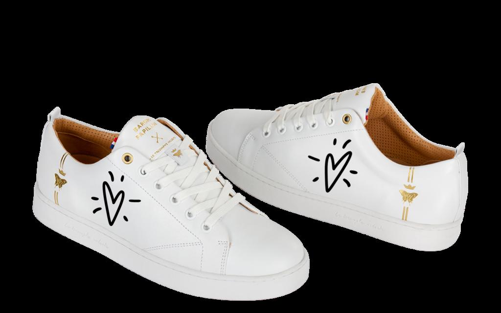 Sneaker Baron Papillon Basse French lovers Black